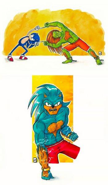 sonic fusion cartoons linda