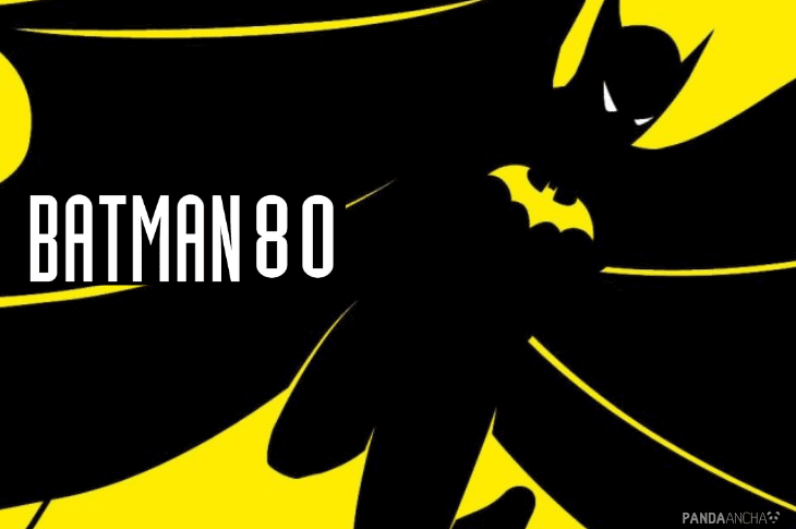 Logotipo batman 80 aniversario