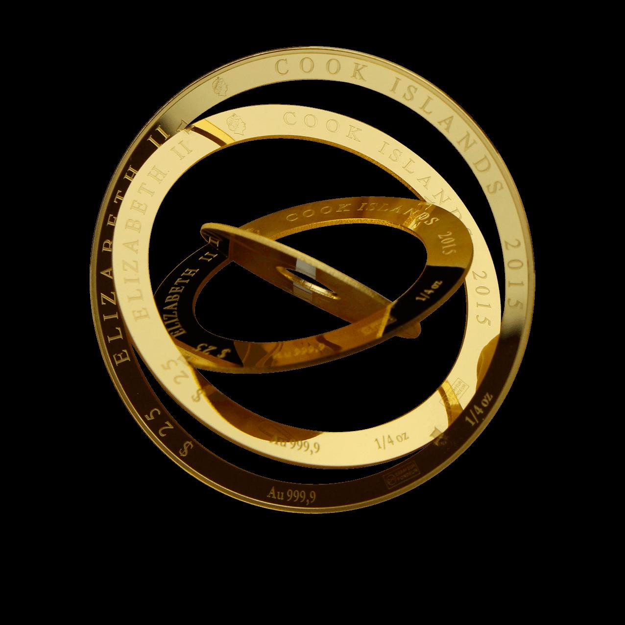 moneda con aro militar de cook