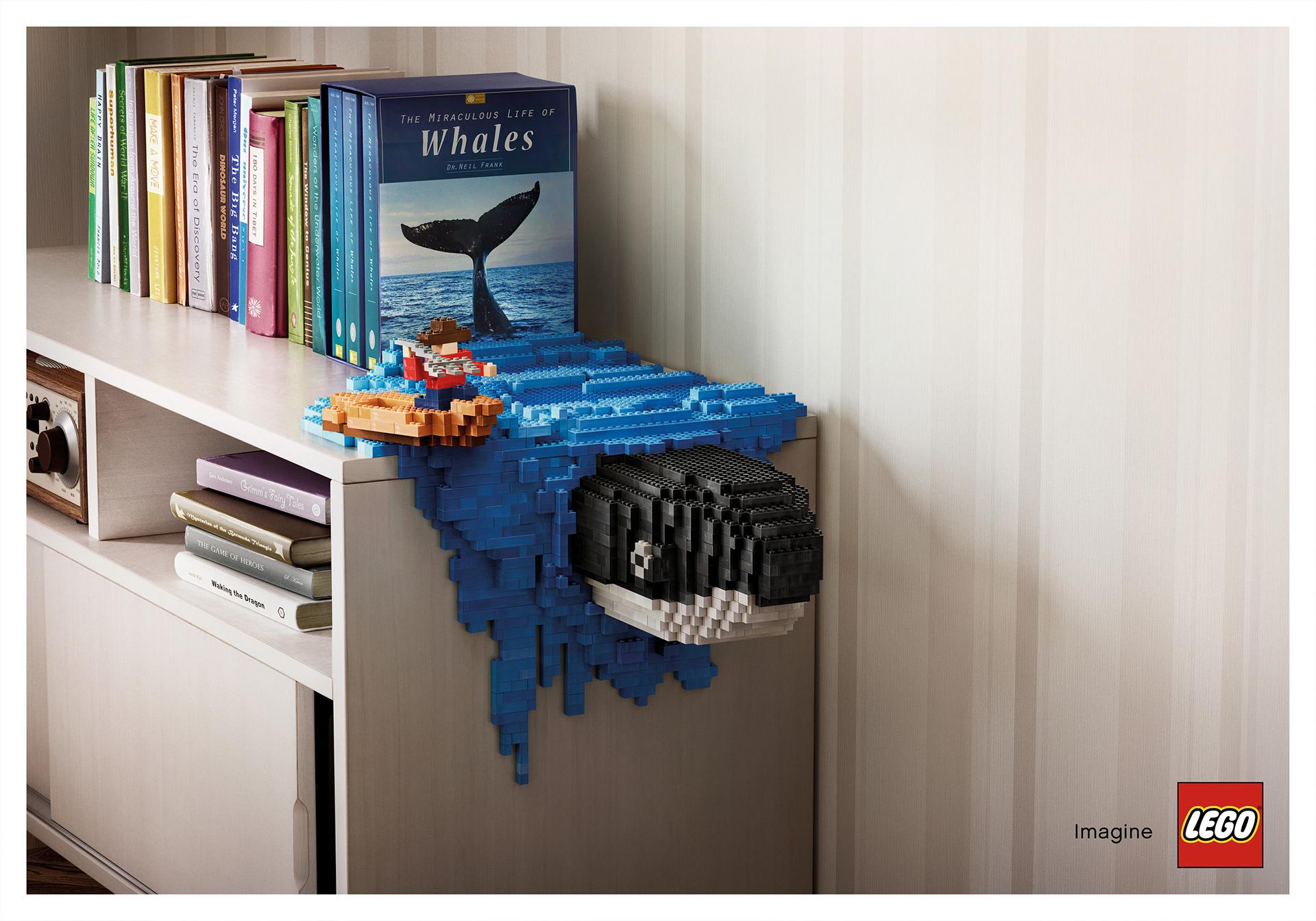 ballena lego