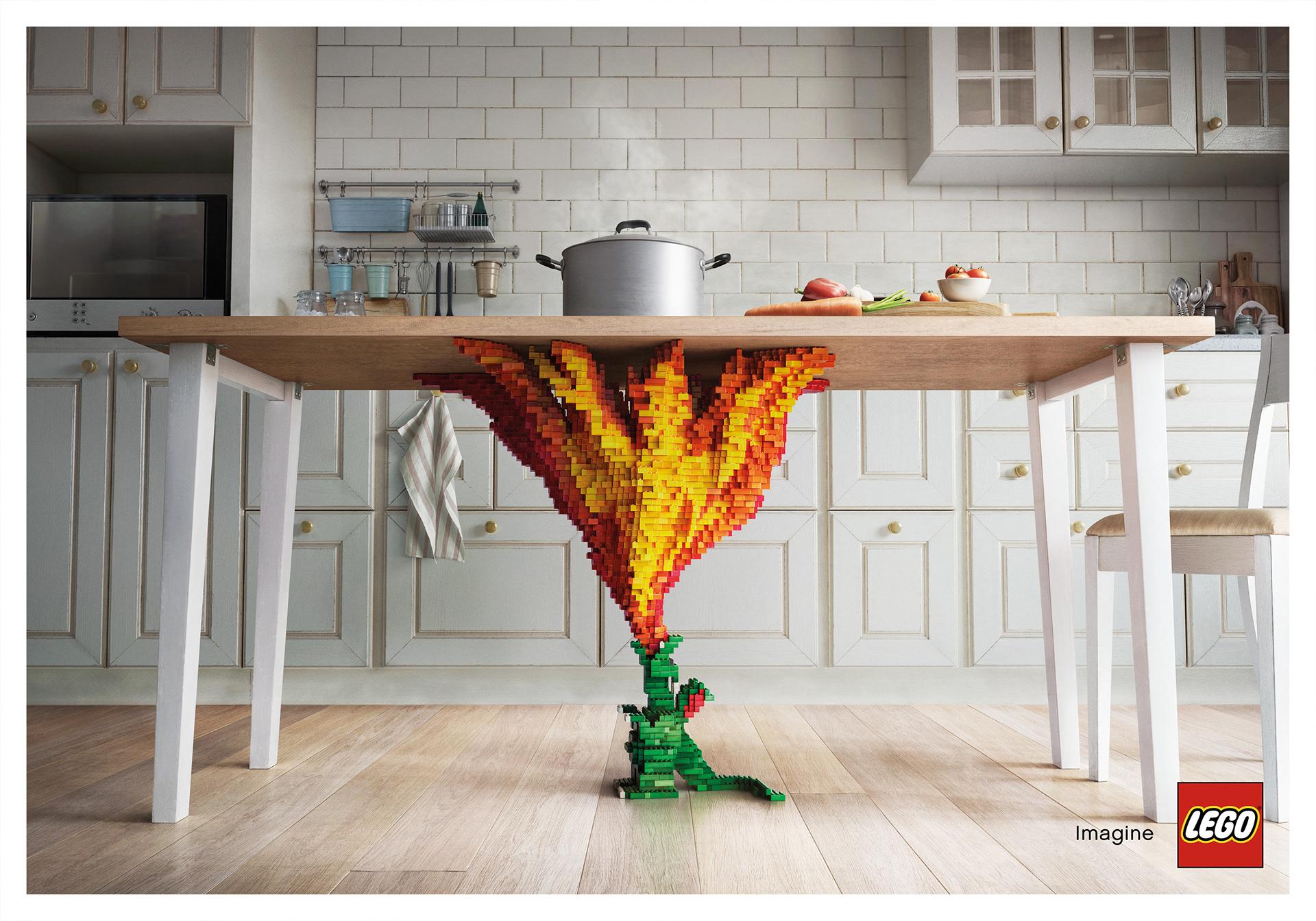 campaña de lego imagine