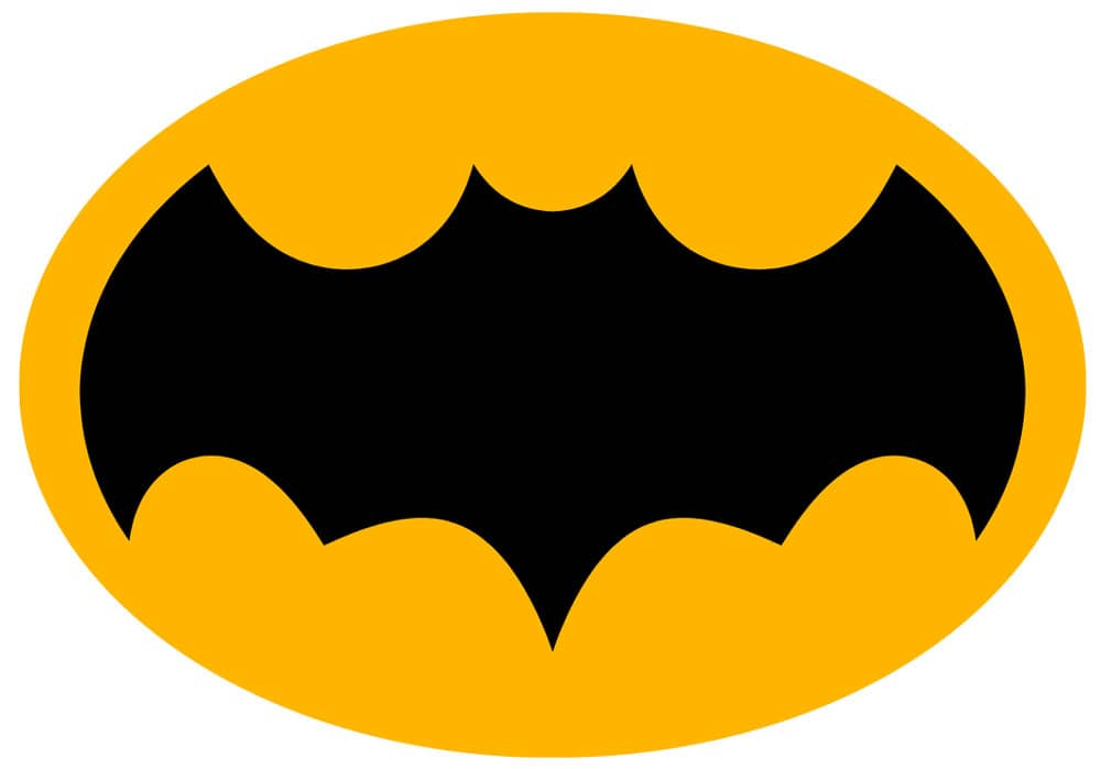 LOGO AMARILLO BATMAN 1966
