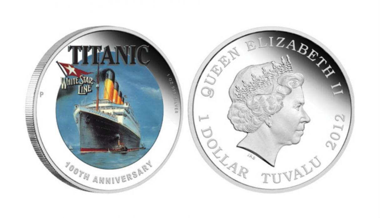 moneda titanic tuvalu
