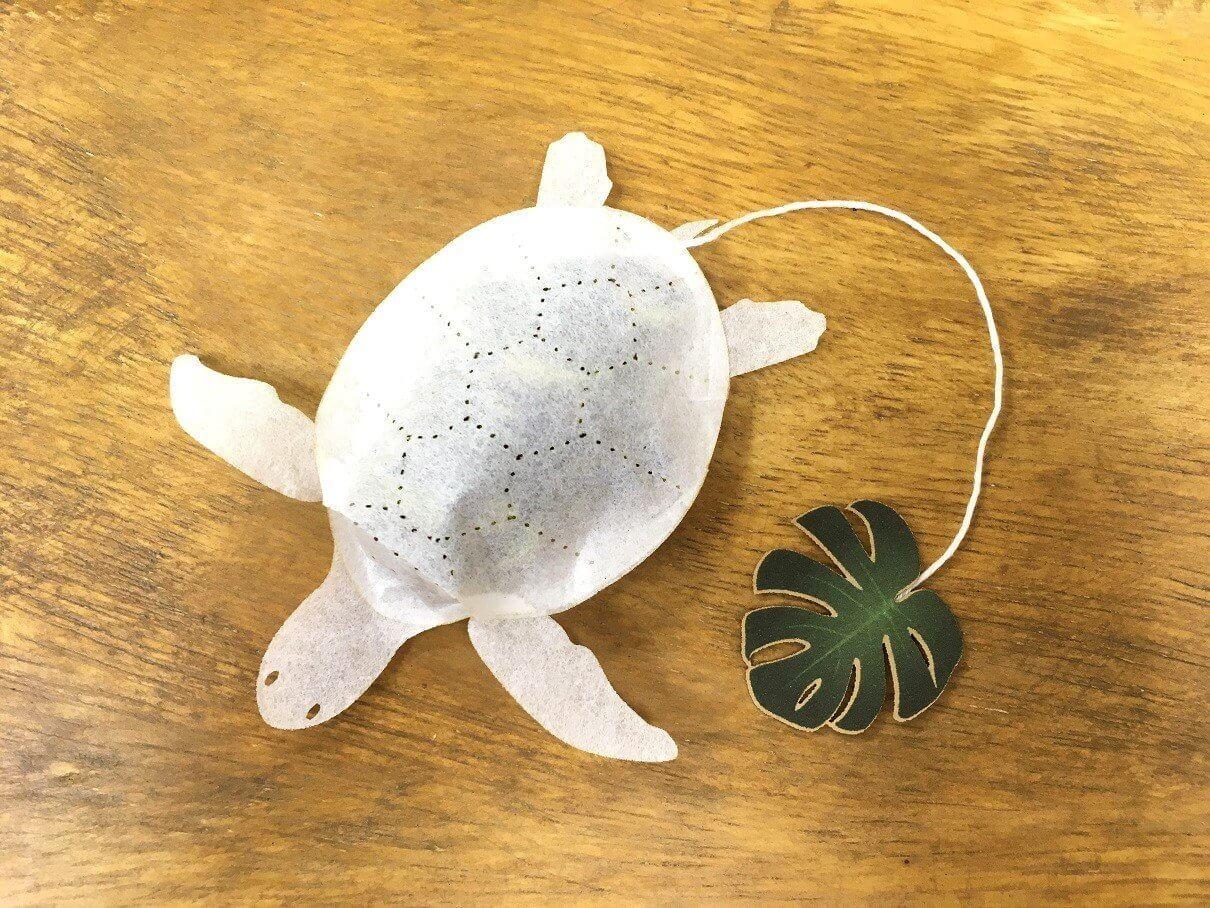 ocean tea bag tortuga