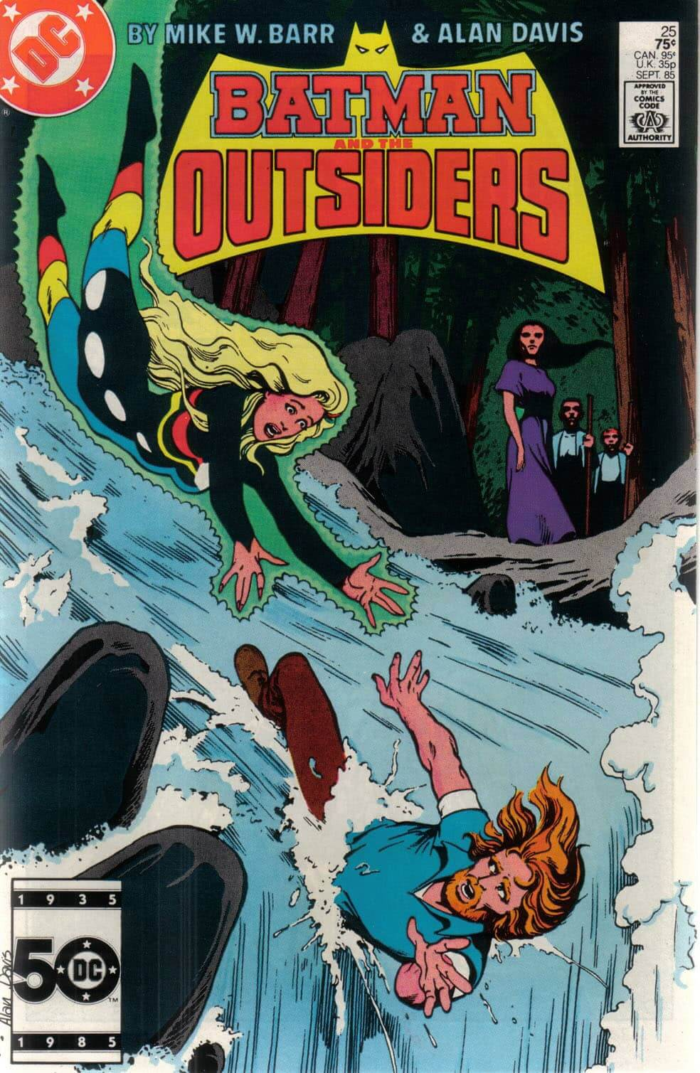 Batman portada outsiders 83