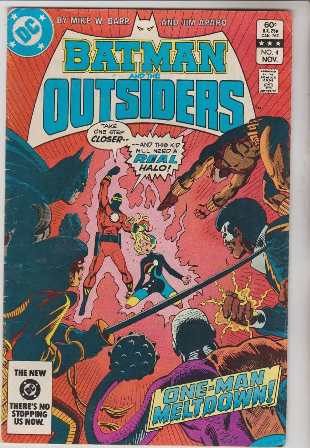 Batman outsiders 83