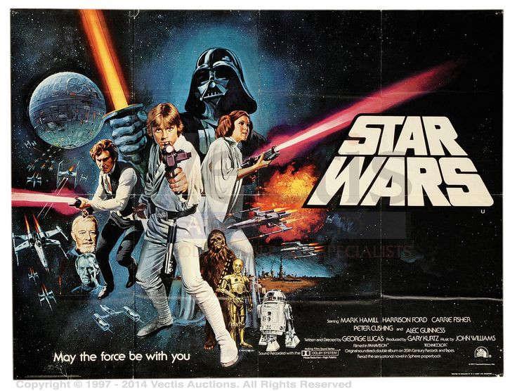 posters de los70 starwars