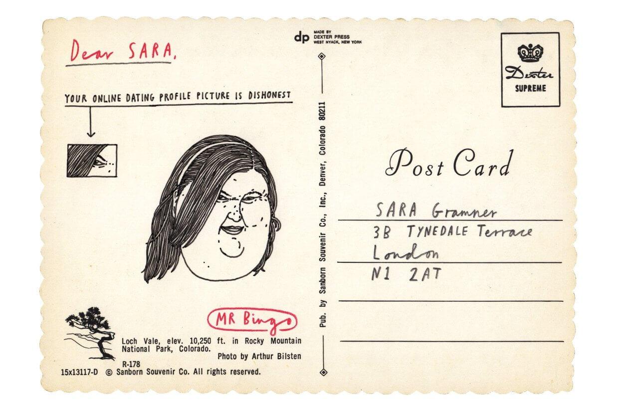 ironic Mr. Bingo en Postales por correo