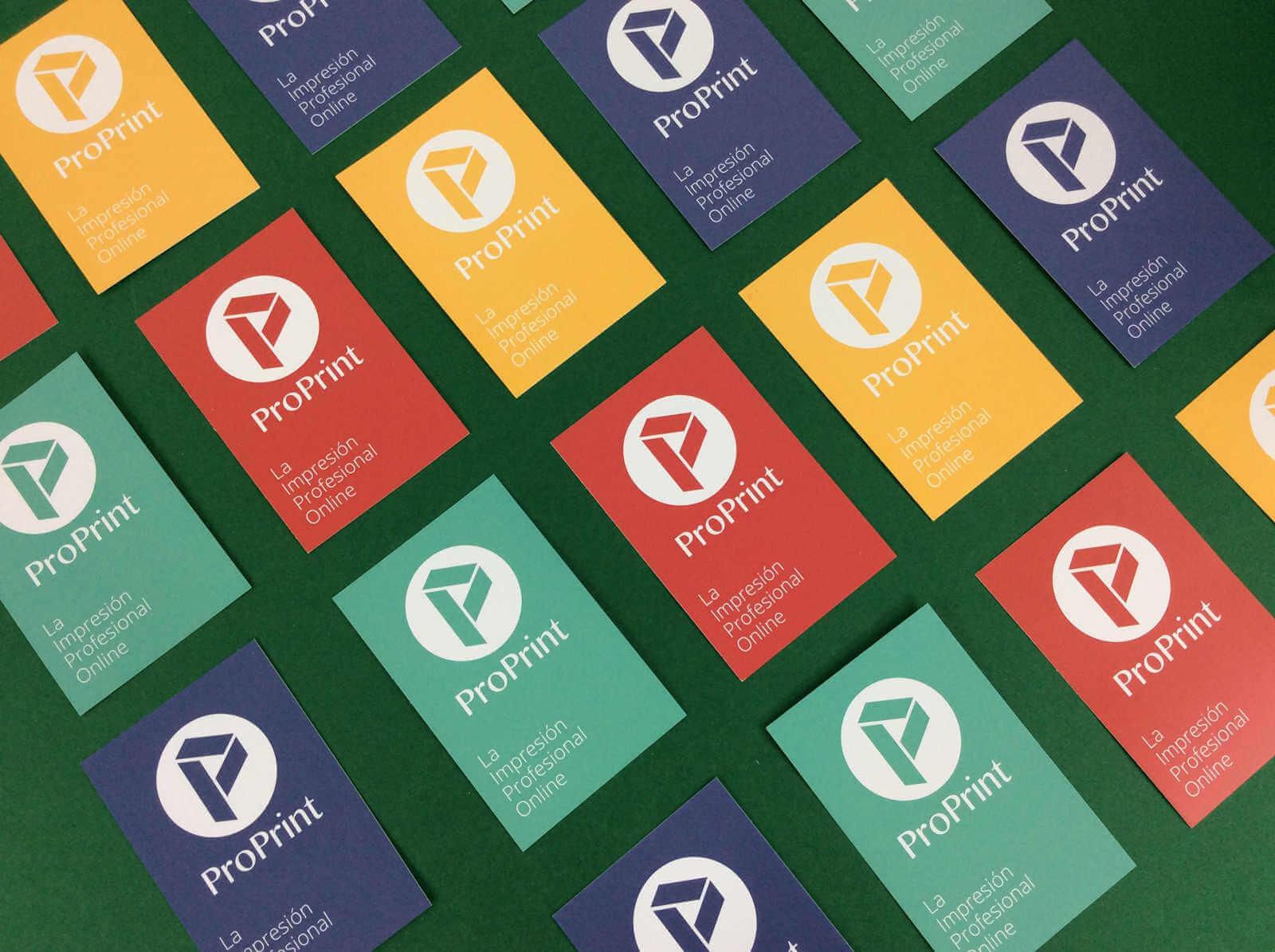 Modelos y colores de tarjetas de visita