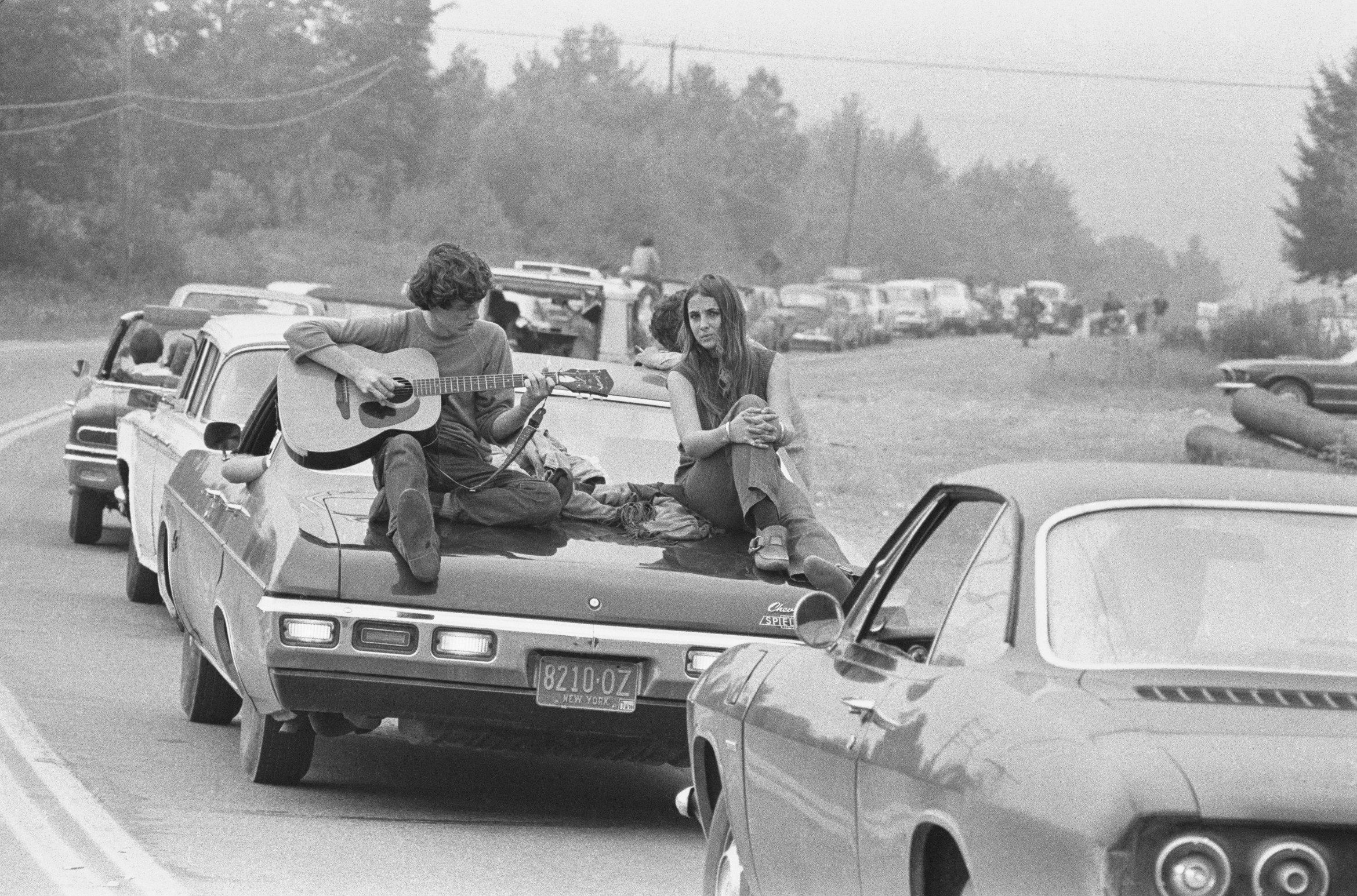 interminables filas woodstock