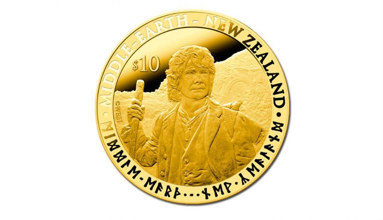 señor de los anillos moneda nueva zelanda
