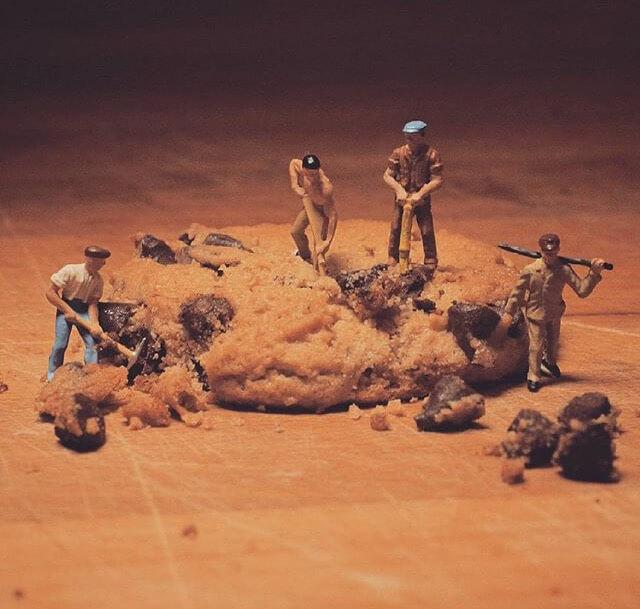 ideas de trabajo duro con miniaturas