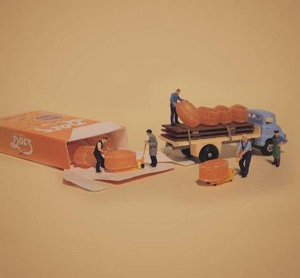 un dulce trabajo a partir de una inmensa idea de miniaturas