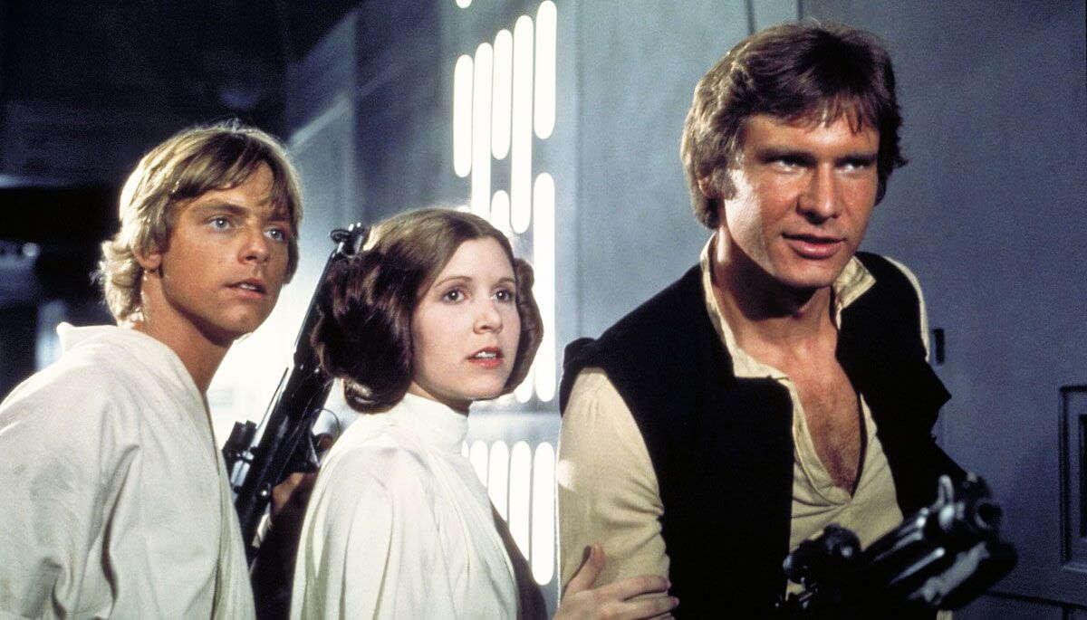 star wars escena primera película 1977