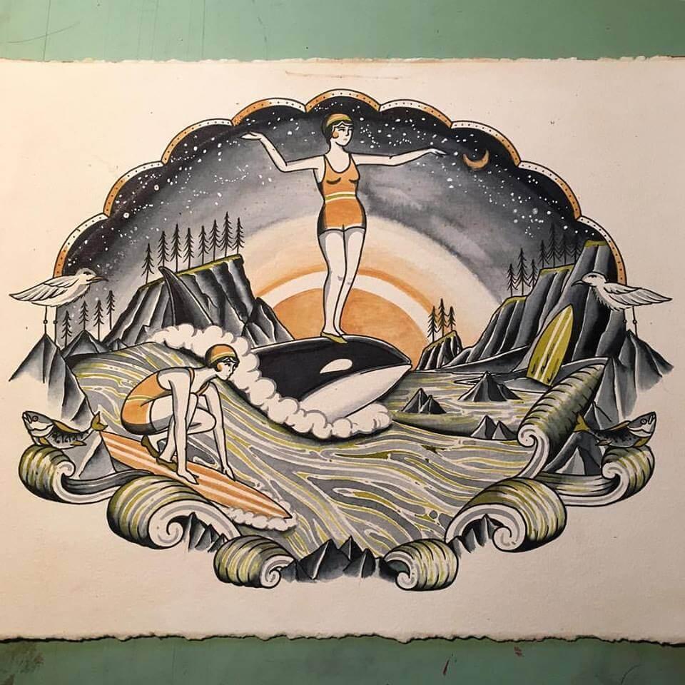 surf ballena kyler martz
