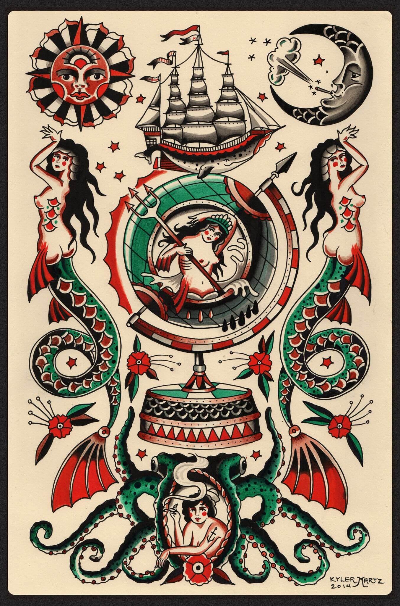 tattoo kyler martz s