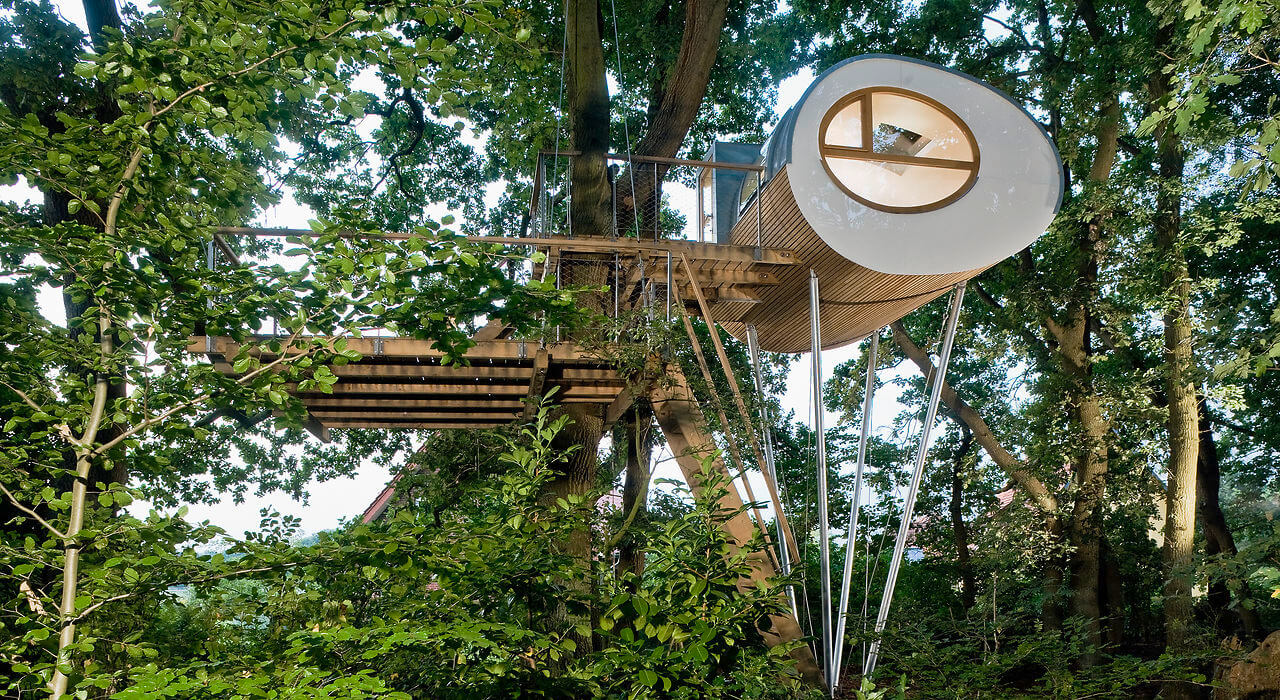 djuren tree house germany