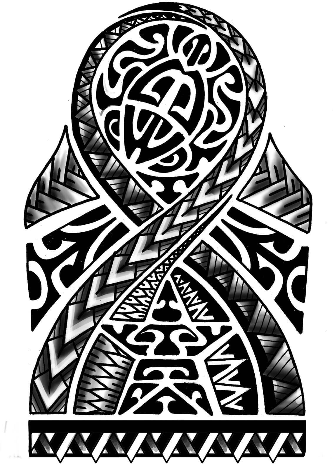 Tatuaje tribal maori