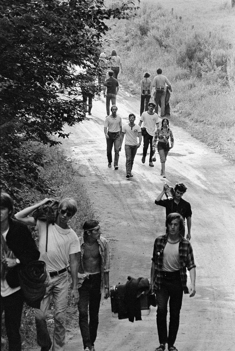 Yendo y viviendo. Woodstock