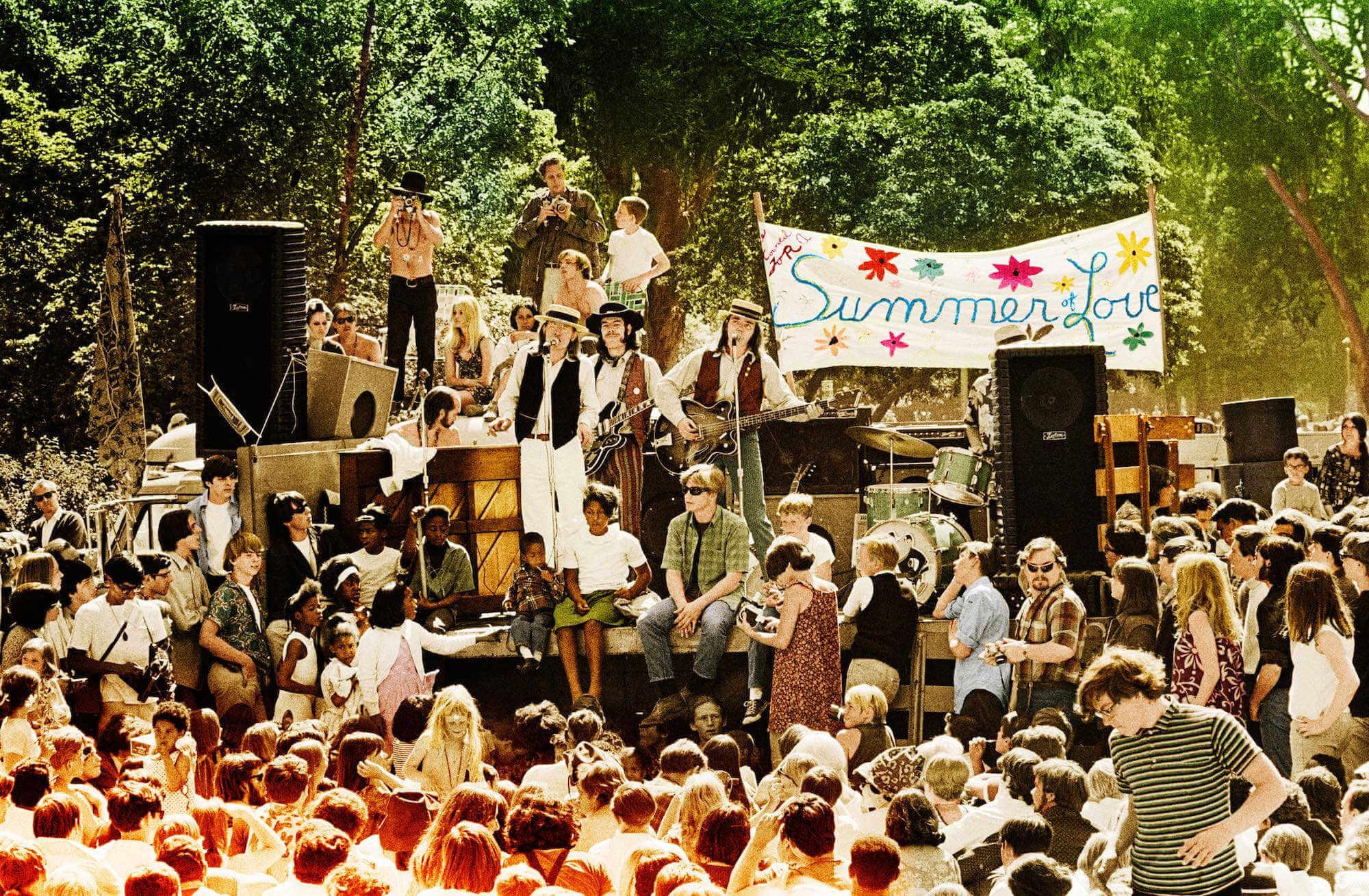 The Charlatans en el verano del amor en 1967