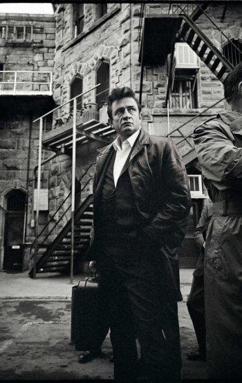 Johnny Cash en la prisión de Folsom
