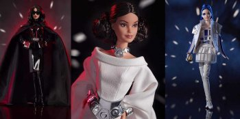 Todos los modelos de star wars barbie
