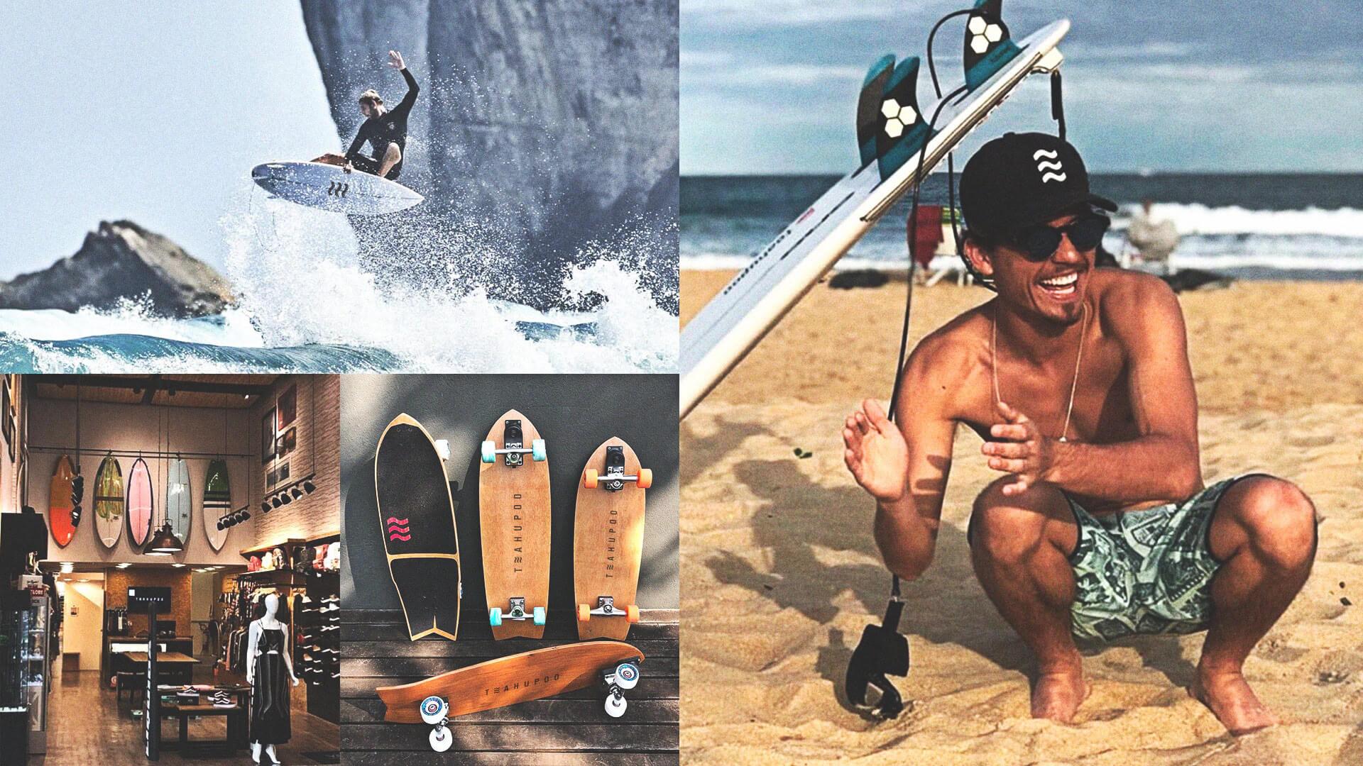SURF LIFESTYLE BRAND TEAHUPOO PAOLO AGOSTINI