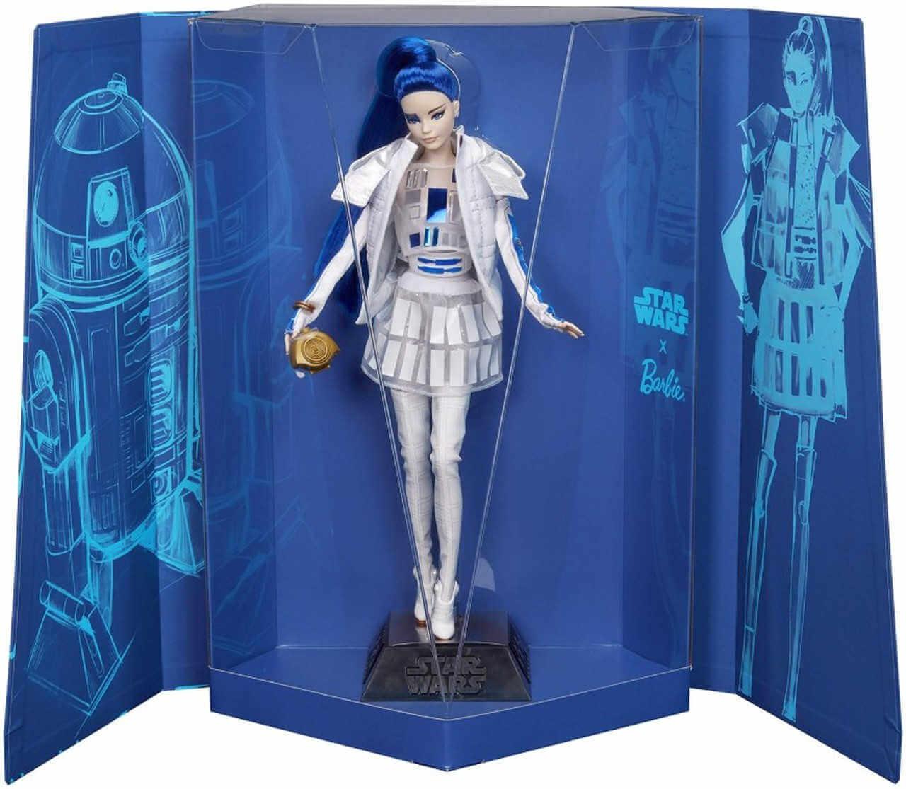 Barbie star wars r2d2 en caja