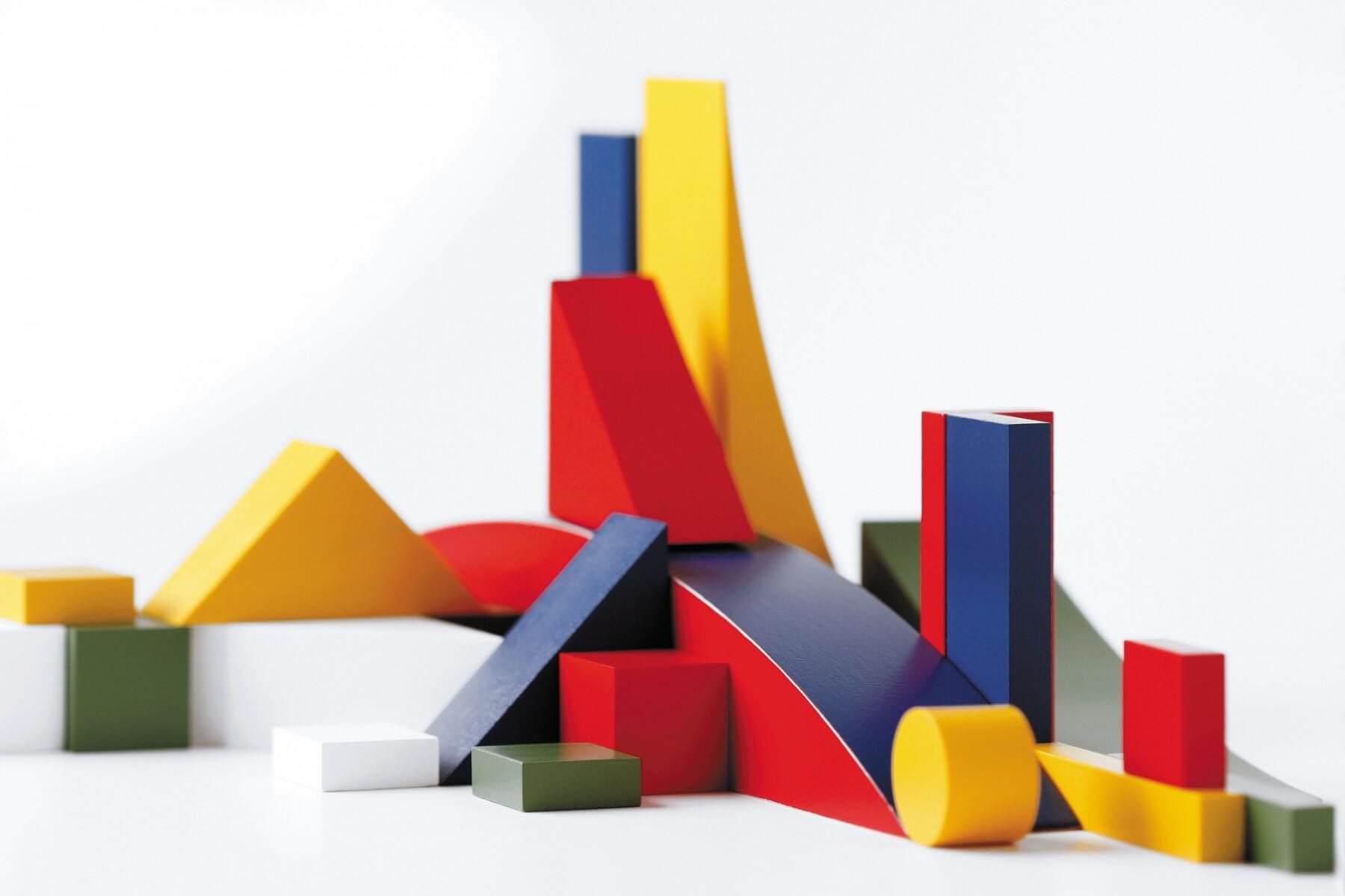 formas y colores bauhaus