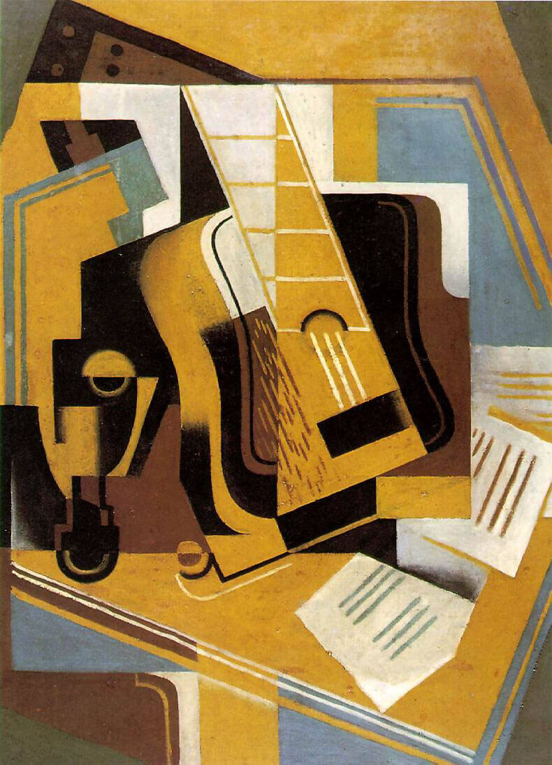 la guitarra de picasso en el cubismo ha sido un ícono