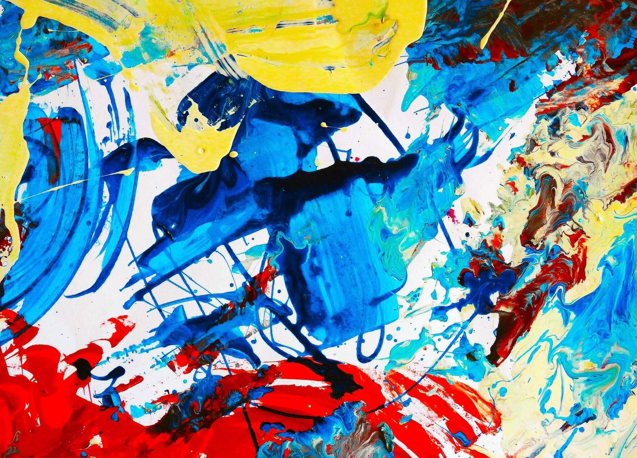 manchas como eje de la corriente artistica del expresionismo abstracto
