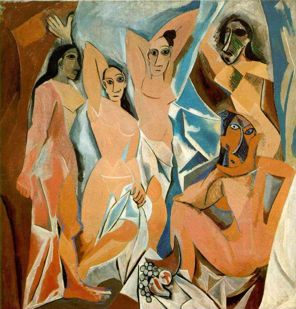 Señoritas de avignon de Pablo Picasso