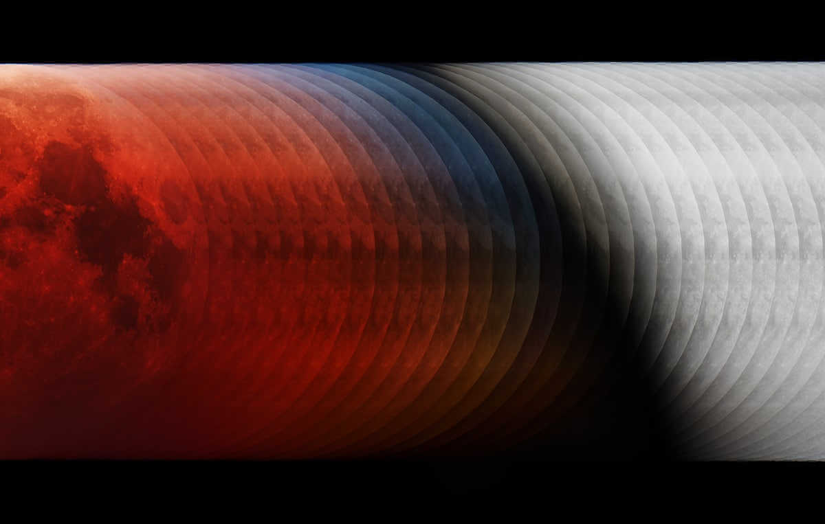 Into the Shadow por László Francsics (Hungría). Fotógrafo de Astronomía del año y Ganador del concurso de fotografía de astronimia de 2019