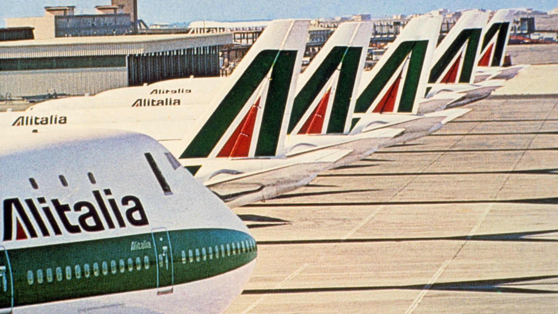 Imagen corporativa de Alitalia