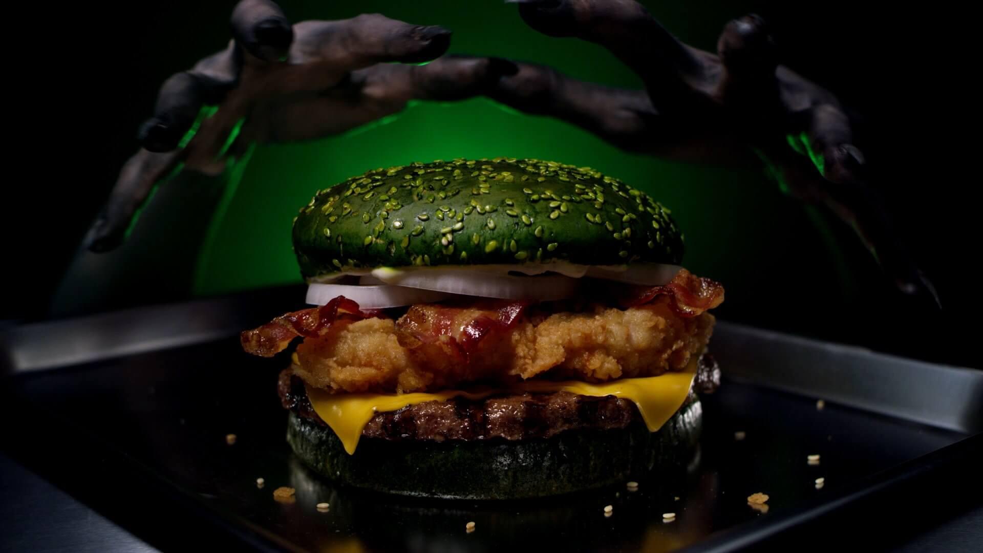 nightmare king hanburguesa halloween burger king