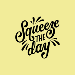 lettering yellow