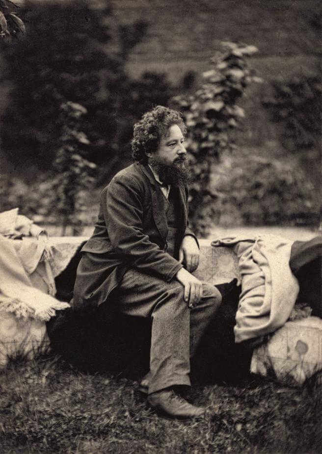Retrato de William Morris
