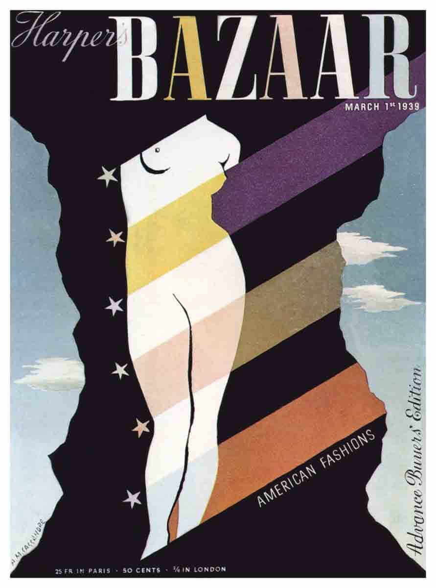 Portada Harpers Bazaar de Marzo de 1939
