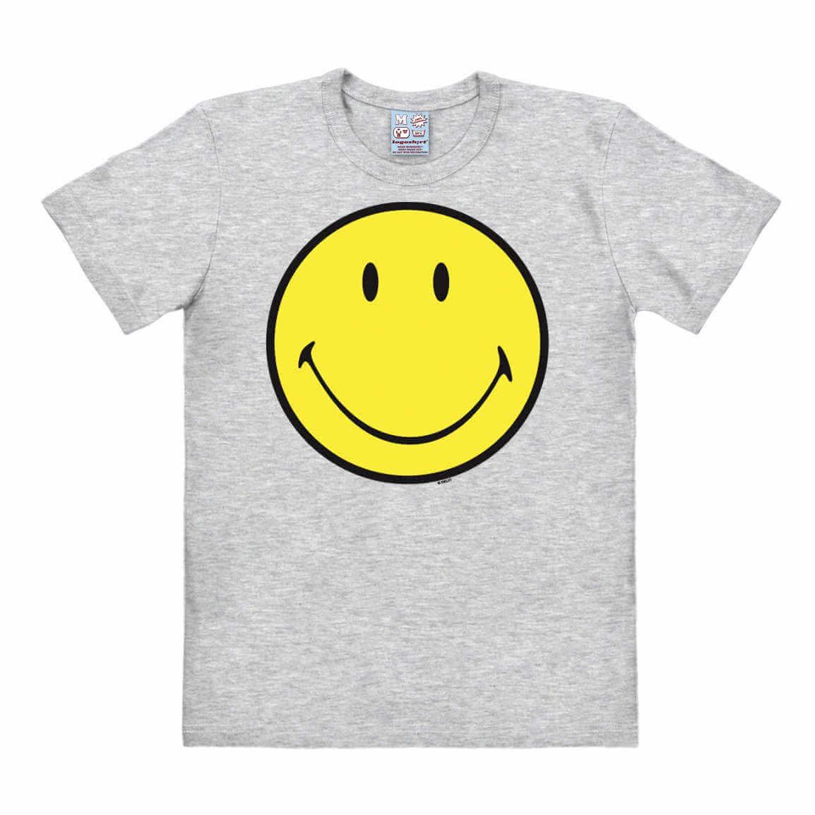 Camiseta con el smiley face