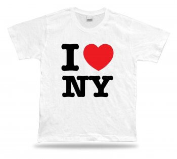 camiseta i love new york