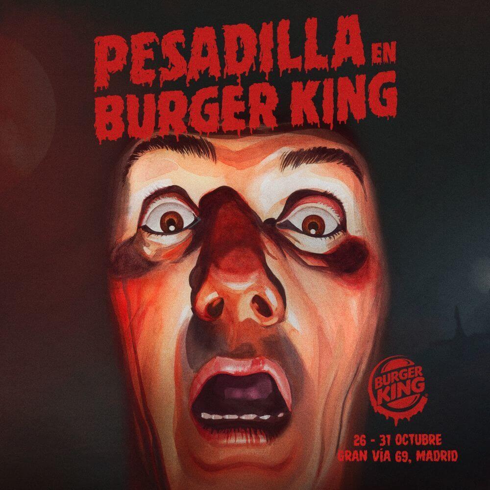 pesadilla en burger king