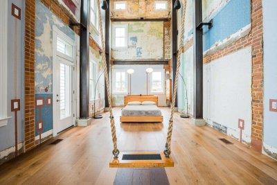 La casa Swing, arquitectura con columpio