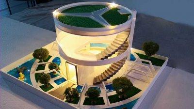 arquitectura, Jaula de lujo para hámsters