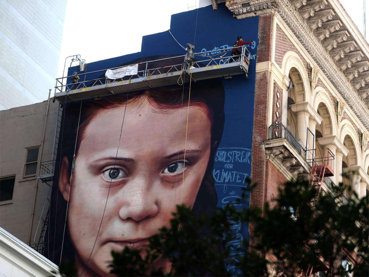 Mural de Greta en San Francisco