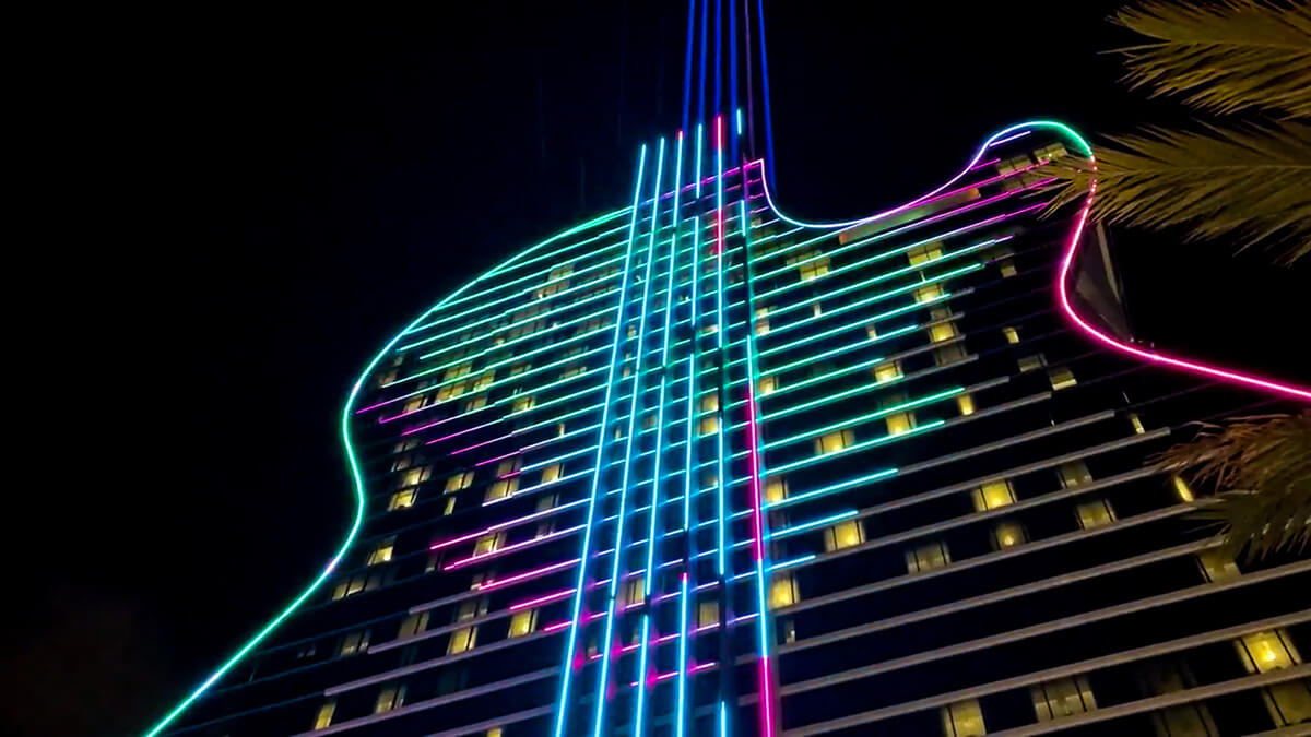 LIGHTS HARD ROCK HOTEL