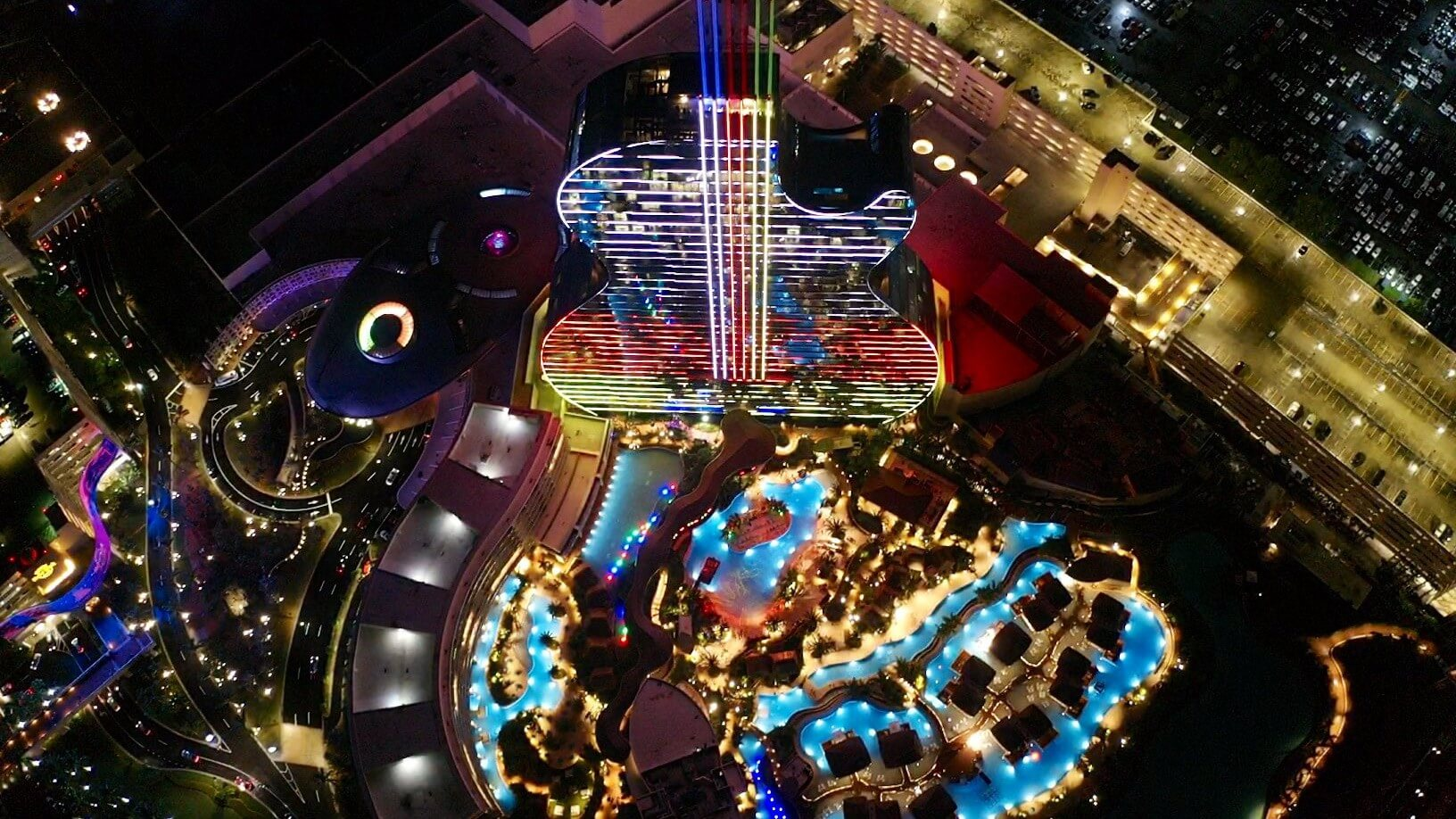 LIGHTS NEW HOTEL HARD ROCK