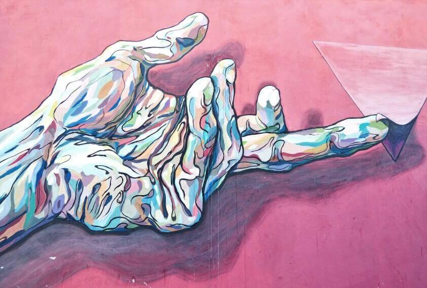cuadro de arte moderno