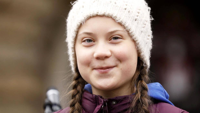 Fotografía de Greta thunberg