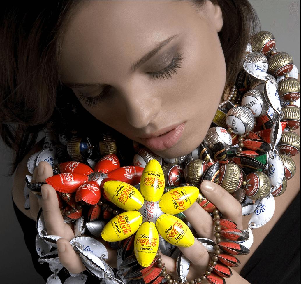 joyas con chapas usadas