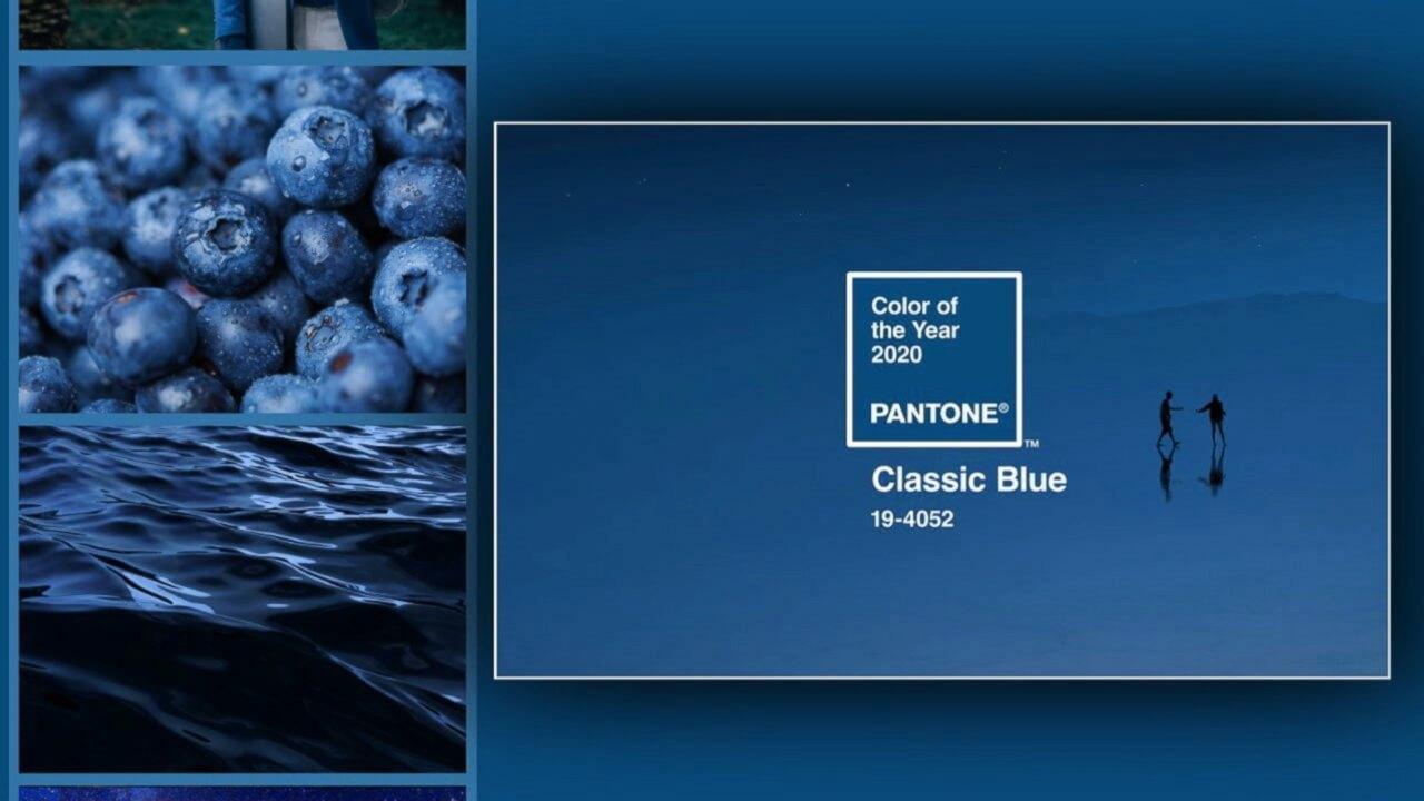 CLASSIC BLUE PANTONE PARA EL 2020